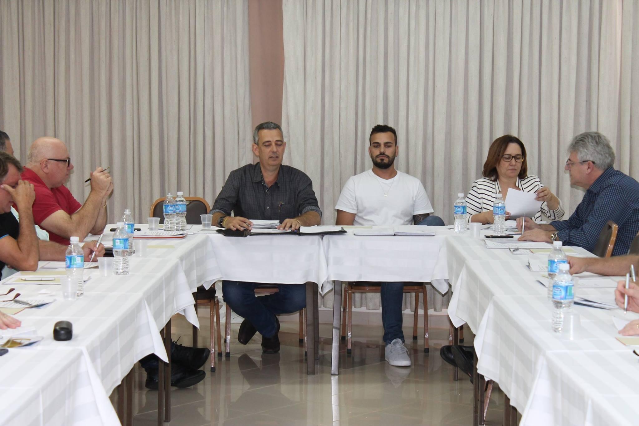 Reunião da diretoria da ADIVIPAR